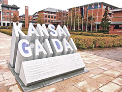 kansai gaidai sign